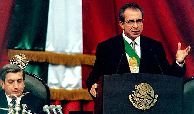 1995-2000: Ernesto Zedillo Ponce de León