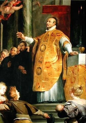 Primera misa de Ignacio