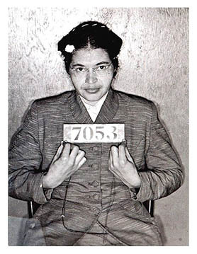 Rosa arrested.