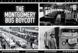 Bus boycott ends.