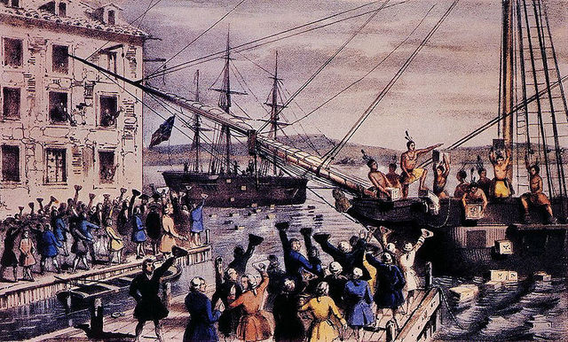 The Boston Tea Part