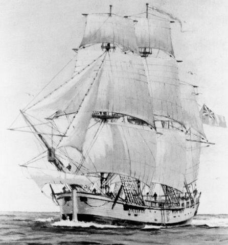 Captain James Cook sails around Australia