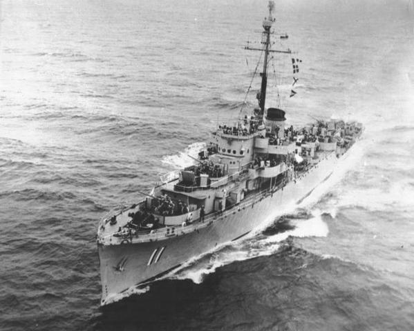 "Fragata ARC ""Almirante Brion"""