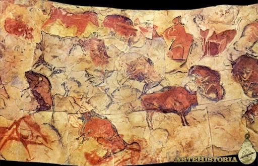 Les pintures rupestres