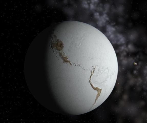 Earth snowball