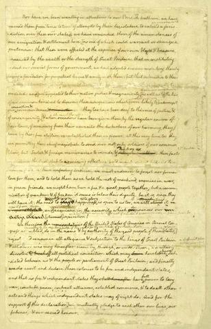 Dclaration of Independance