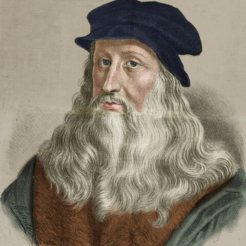 Leonardo Da Vinci analizes the idea of flying
