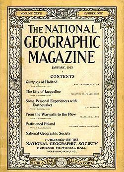 FUNDACIÓN DE NATIONAL GEOGRAPHIC SOCIETY