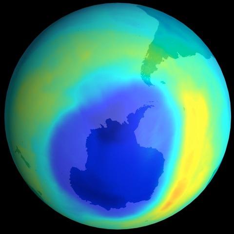 Dannelsen av ozonlaget