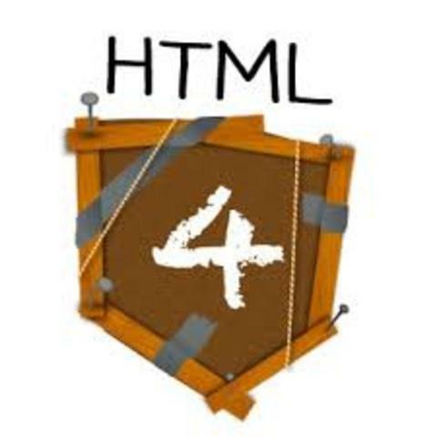 HTML 4.0 como versión corregida