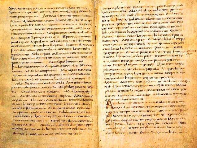 Muratorian Canon List