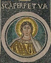 Martyrdom of Perpetua and Felicity in Carthage