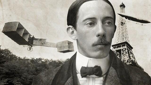 Dumont's first flight