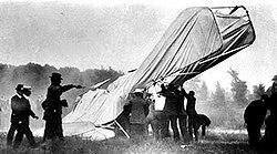 First aviation death