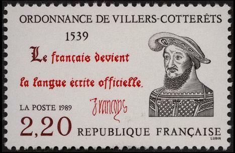 Le français comme seule langue du royaume.