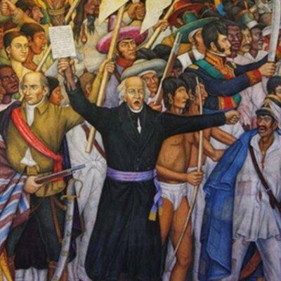 La Independencia de México. timeline