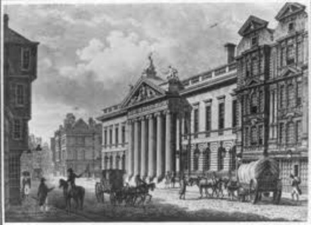 Fundación  de la  Sociedad Epidemiológica de Londres