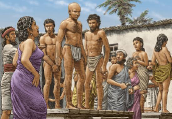 ¿Por qué la esclavitud en Mesopotamia?