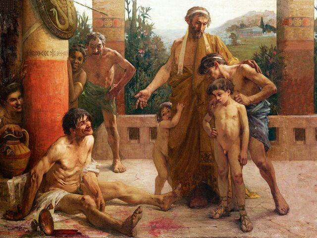 Esclavitud en la Antigua Grecia