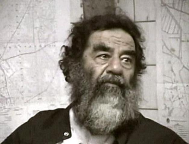 Saddam is found
