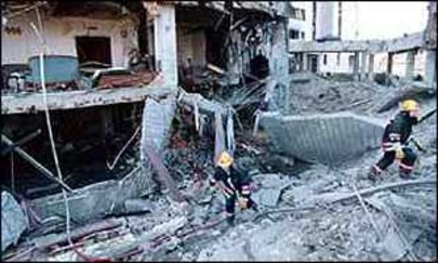 Embassy bombed