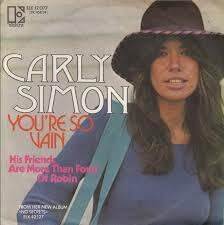 "Carly Simon ​""You're So Vain"""