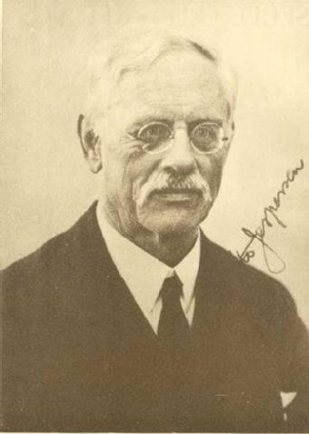 Linguist Otto Jespersen