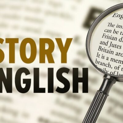 THE HISTORY OF ENGLISH  timeline