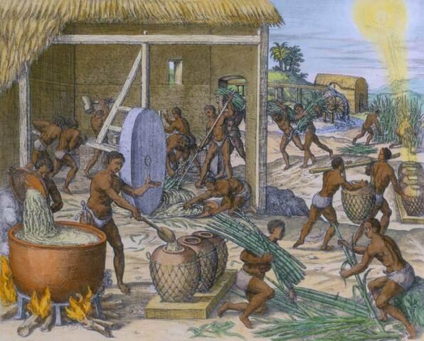 Primeros esclavos en las islas del Caribe