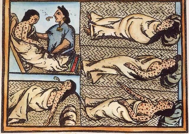 Epidemia de viruelas en el Caribe