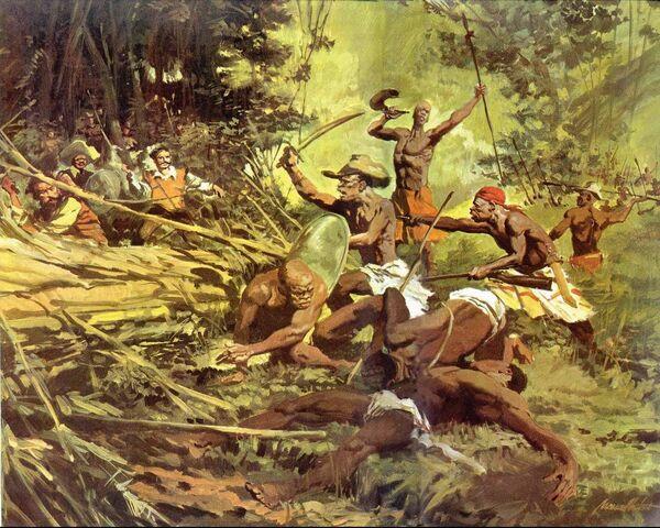 Sublevación de los esclavos negros