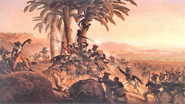 Sublevación los esclavos en la ciudad panameña de Acla