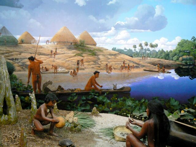Desaparición de la población precolombina