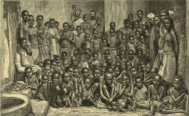 Entrada de la población negra a Estados Unidos