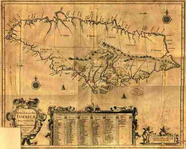 Inglaterra se apodera de Jamaica