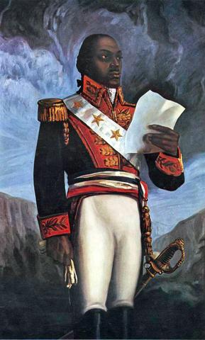 Toussaint Louverture proclama la libertad de los esclavos