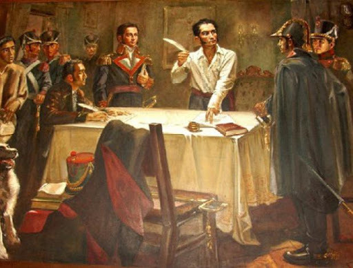 Simón Bolívar decreta la abolición de la esclavitud