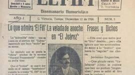 Antecedentes del periódico. timeline