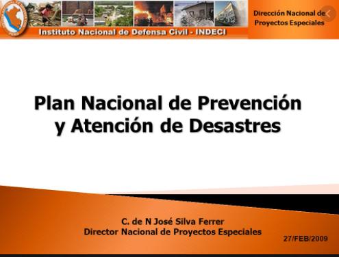 PNPAD Decreto 93 /1998 - Establece la importancia de PNPAD