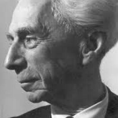 Bertrand Russell 1872-1970 timeline