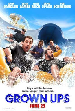 Adam Sandler stars in Grown Ups