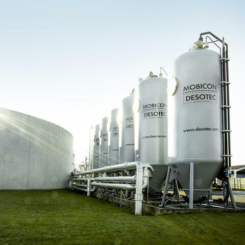 Large Scale Water Filtration