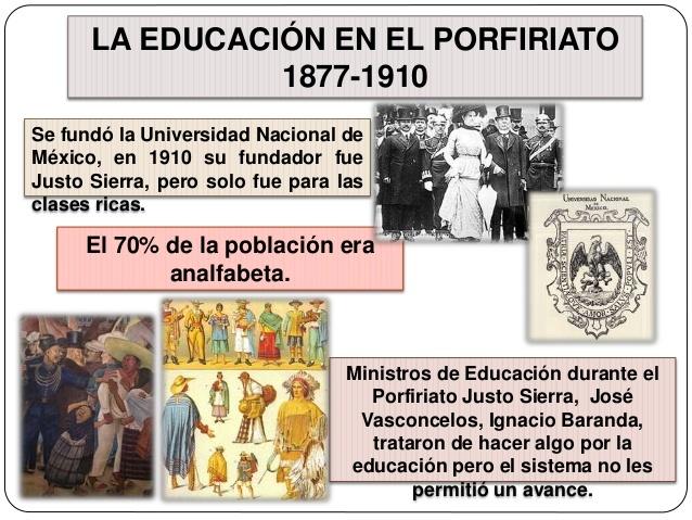 LA EDUCACIÓN EN EL PORFIRIATO (1876-1911)