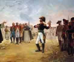 El realista Aguirre rinde a la guarnición del Fuerte de Jaujilla