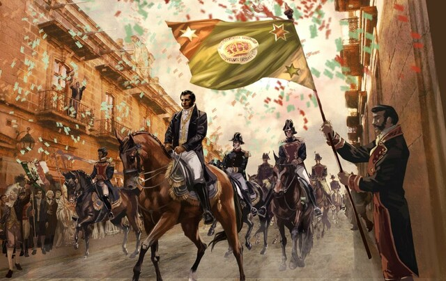Entra el Ejército Trigarante a la Ciudad de México