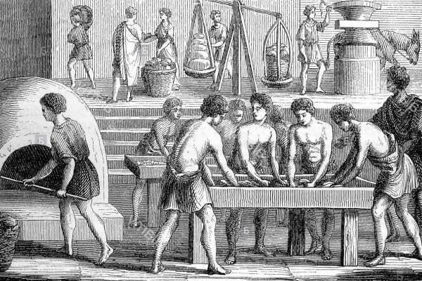El pan en la grecia clásica
