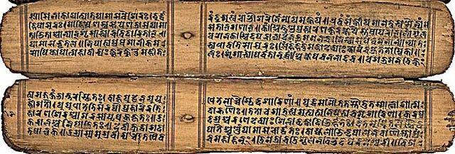 Cesa la evolución del Sánscrito