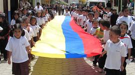 La educación en Colombia. timeline