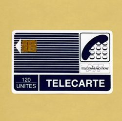 Invention of the smart card by Roland Moreno, a precursor to the advent of phone cards