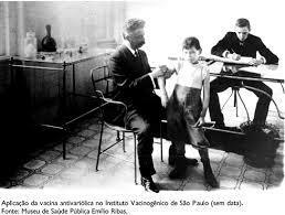 Imunização contra a varíola
